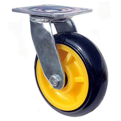 韩式黄芯黑皮脚轮