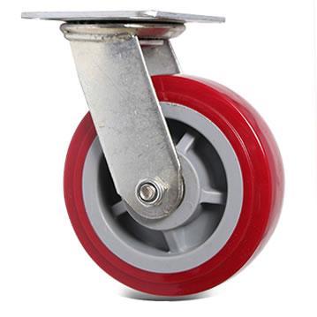 灰芯红皮脚轮